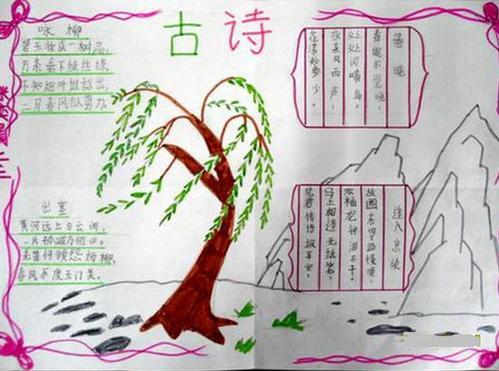手抄报感恩孝亲_手抄报_手抄报图片_小学生手抄报_手抄报大全